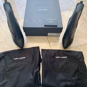 Saint Laurent Shoes - YSL NEW Black ankle boots!